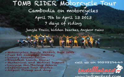 Tomb Rider Motorcycle Tour 2013