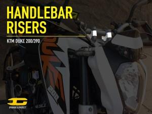 KTM 200 390 bar risers